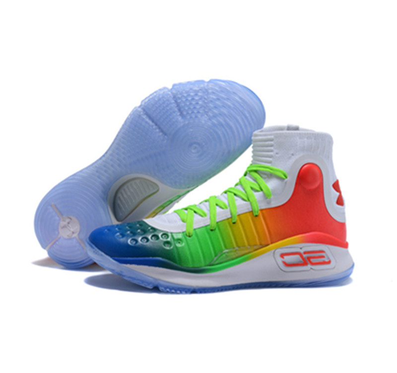 UA Curry 4 rainbow